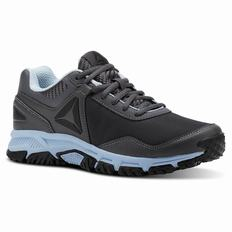 Reebok Ridgeride Trail 3.0 Womens Grey/Blue/Black Walking Shoes (320LEUOJ)